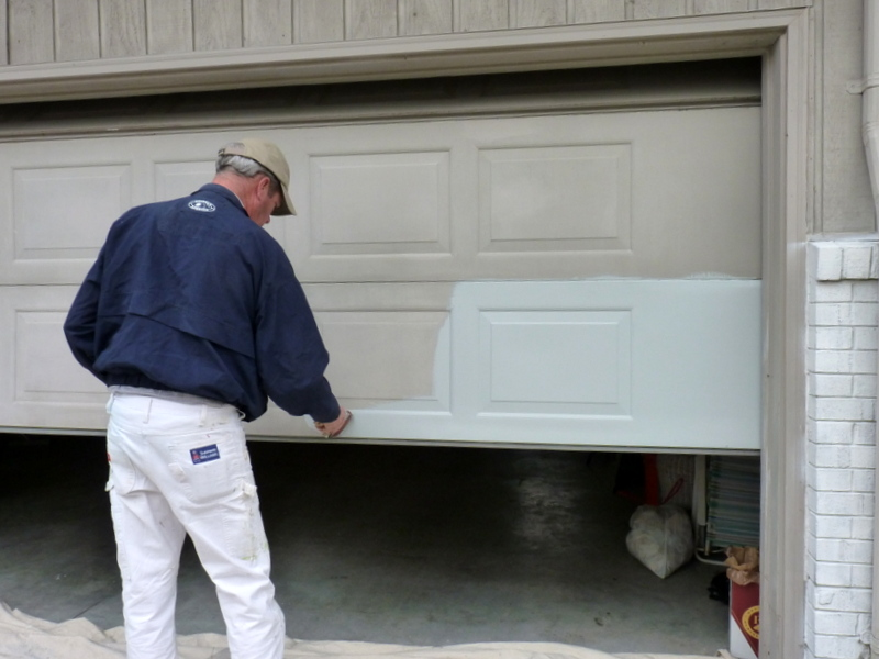 garage brown paint panel doors vinyl door seal prices metal for steel new dark front colors house panels